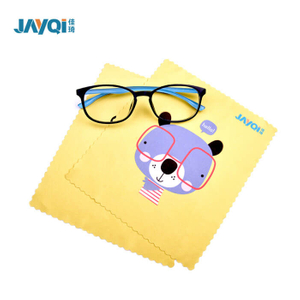 Digital Printing Microfiber Glasses Cleaning Cloth